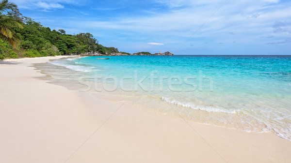 Beach in summer of Thailand Stock photo © Yongkiet