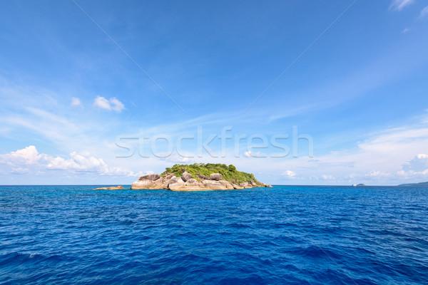 Ko Ha is a small island in Mu Ko Similan, Thailand Stock photo © Yongkiet