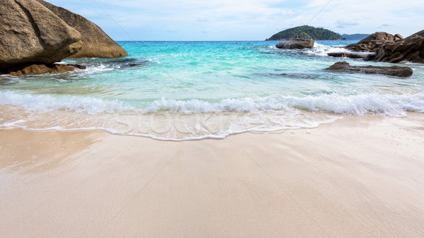 Stockfoto: Strand · zomer · Thailand · mooie · natuur · Blauw