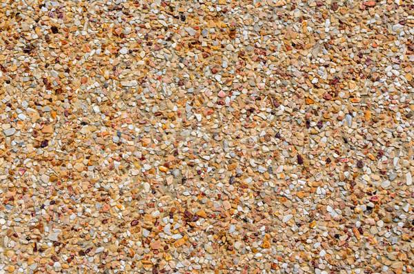 Anti-slip floors are made of smaller stone Stock photo © Yongkiet