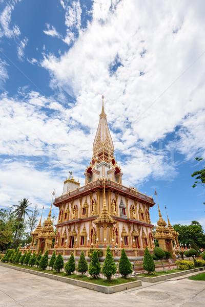 寺 美しい 塔 有名な 場所 礼拝 ストックフォト © Yongkiet