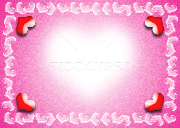 Valentine's Day card Stock photo © Yongkiet