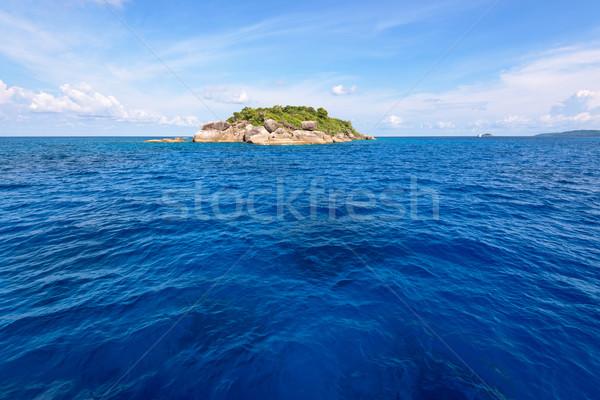 небольшой острове Таиланд синий морем лет Сток-фото © Yongkiet