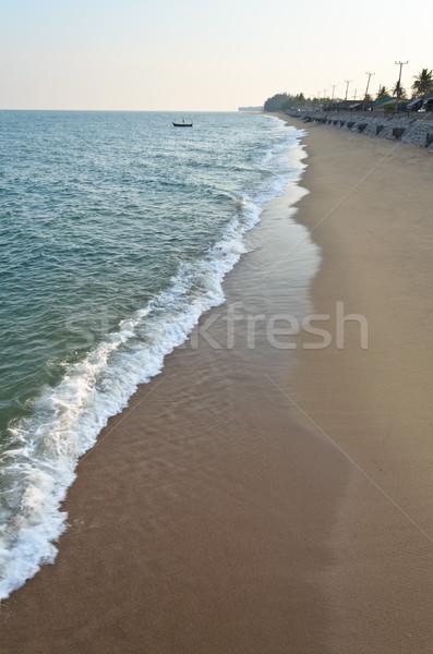Coastal rural Thailand. Stock photo © Yongkiet