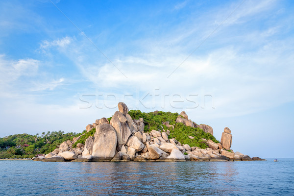 Buddha Point at cape in Ko Tao island Stock photo © Yongkiet