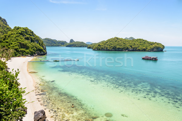 Ko Wua Ta Lap Viewpoint Stock photo © Yongkiet