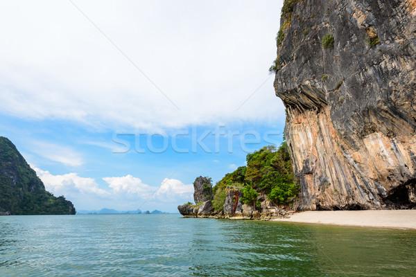 Beautiful landscape Khao Tapu island Stock photo © Yongkiet