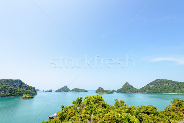 Mu Ko Ang Thong National Marine Park Stock photo © Yongkiet