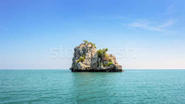 Small island in Thailand Stock photo © Yongkiet