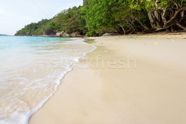 Zee Thailand mooie landschap water klein Stockfoto © Yongkiet