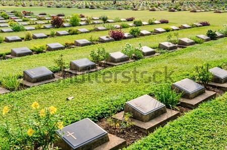 Stock photo: Kanchanaburi War Cemetery (Don Rak)
