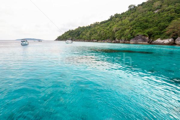 Honeymoon Bay in Mu Koh Similan, Thailand Stock photo © Yongkiet