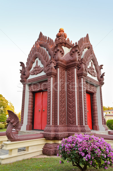 Arts and architecture of Thailand Stock photo © Yongkiet