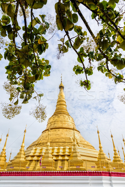 Tachileik Shwedagon Pagoda Stock photo © Yongkiet