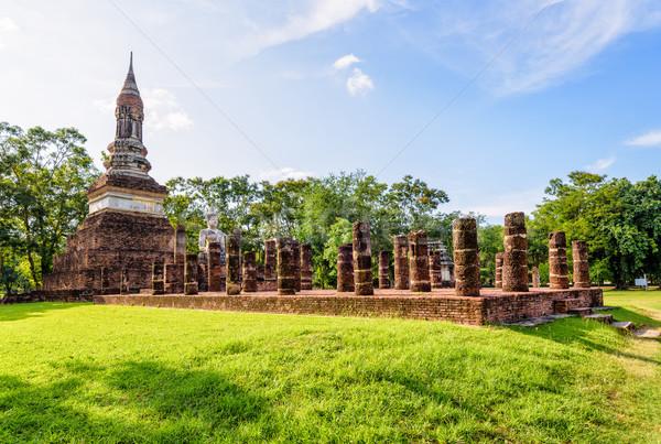Wat Traphang Ngoen temple Stock photo © Yongkiet