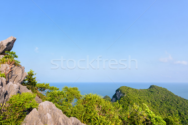 View mare cielo bella natura Foto d'archivio © Yongkiet