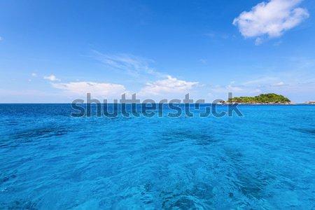 Stok fotoğraf: Küçük · ada · mavi · deniz · güzel · manzara