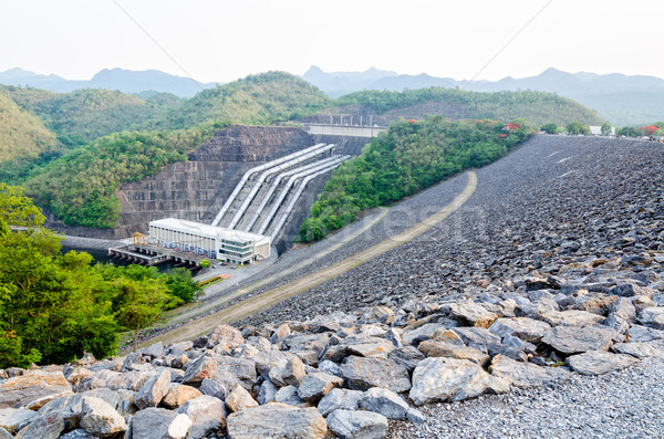 Hydroelectric power stations Stock photo © Yongkiet