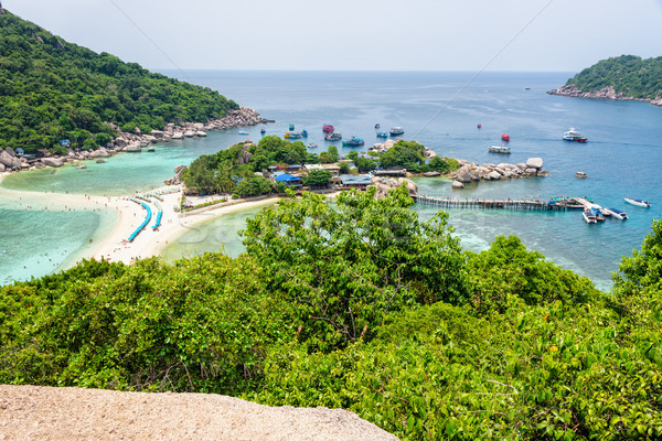 Koh Nang Yuan Island Stock photo © Yongkiet