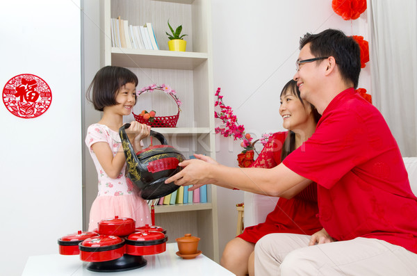 Chinese new year Stock photo © yongtick