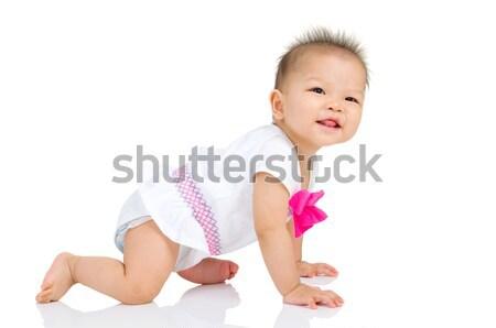 アジア 赤ちゃん 美しい ボディ ストックフォト © yongtick