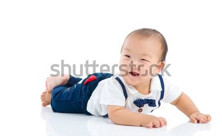 アジア 赤ちゃん 美しい 少年 肖像 ストックフォト © yongtick