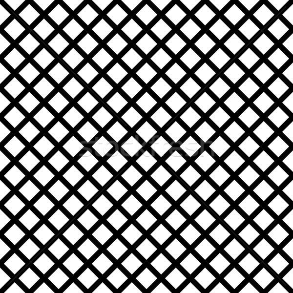 Stock fotó: Mértani · feketefehér · végtelenített · vektor · minta · waffle