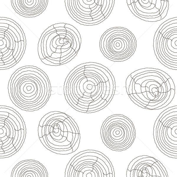 бесшовный пробка древесины белый шаблон Сток-фото © yopixart