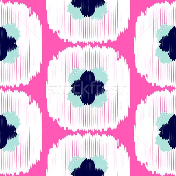 Vetor abstrato geométrico tecido Foto stock © yopixart