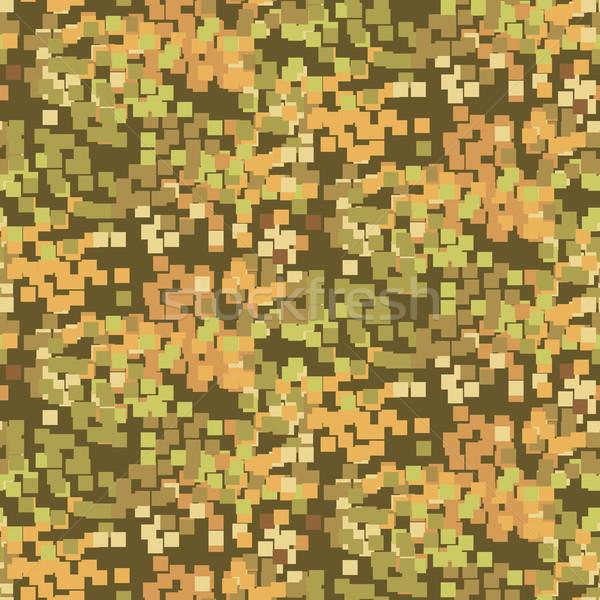 Pixeles homok álca végtelen minta végtelenített vektoros minta Stock fotó © yopixart