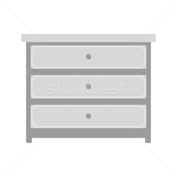 Chest of drawers Stock photo © yopixart