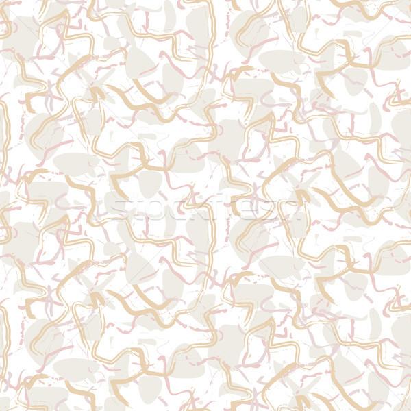 Márvány fehér kő végtelenített vektor textúra Stock fotó © yopixart
