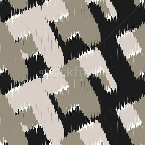 Vector abstract meetkundig weefsel print Stockfoto © yopixart