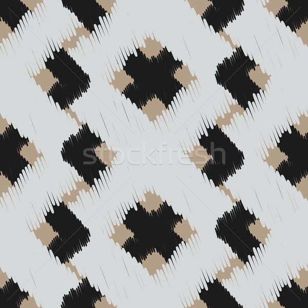Vettore abstract geometrica tessuto stampa Foto d'archivio © yopixart
