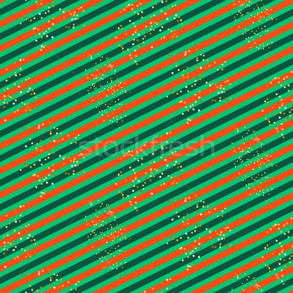 Diagonal rouge vert ligne modèle glitter Photo stock © yopixart