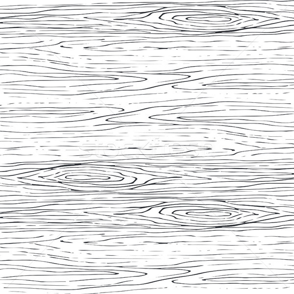 Seamless wood grain gray pattern. Wooden texture vector background. Stock photo © yopixart