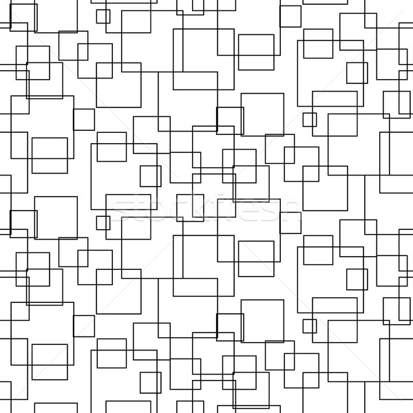 Abstract Geometric Shapes Seamless Vector Pattern Vector