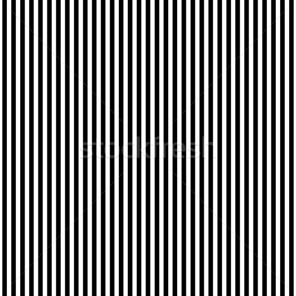 Függőleges sűrű feketefehér vonalak mértani végtelen minta Stock fotó © yopixart