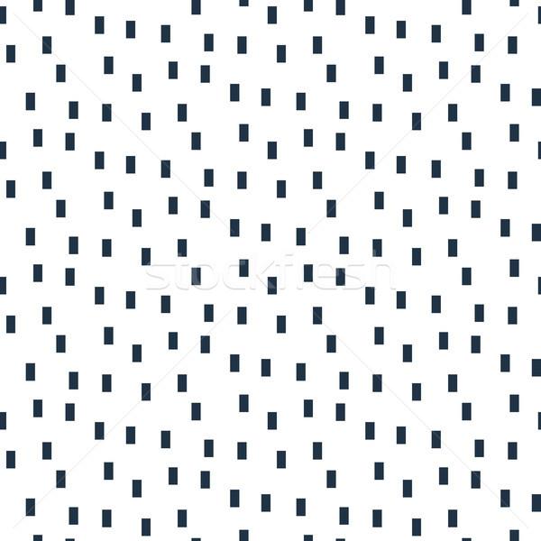 Pequeno retângulo partículas sem costura vetor padrão Foto stock © yopixart