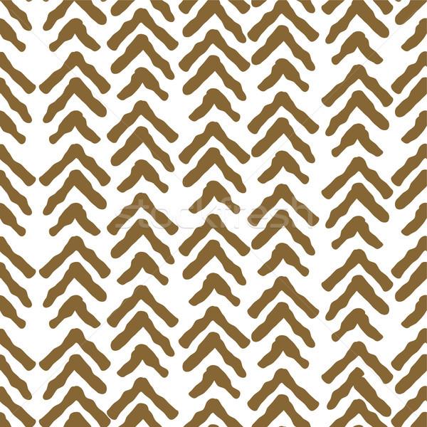 Grezzo oro colore senza soluzione di continuità vettore pattern Foto d'archivio © yopixart