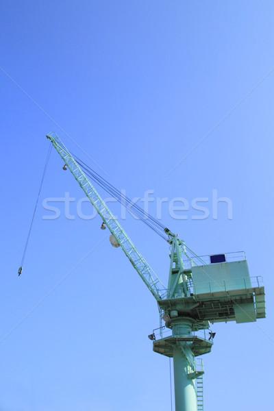 Crane (machine) Stock photo © yoshiyayo