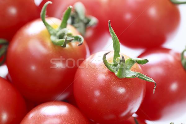 Fresco tomates verão fruto fundo Foto stock © yoshiyayo