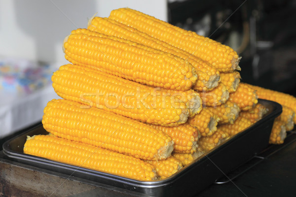 corn boil  Stock photo © yoshiyayo
