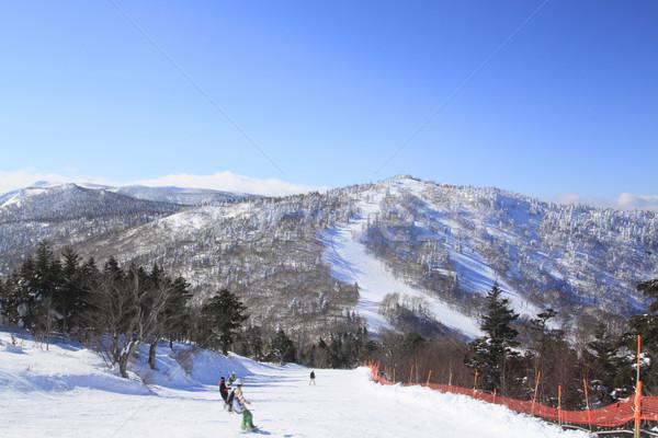 Stock photo: ski run