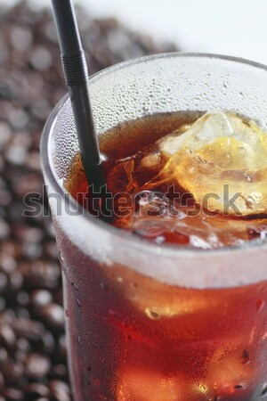 Iced coffee  Stock photo © yoshiyayo