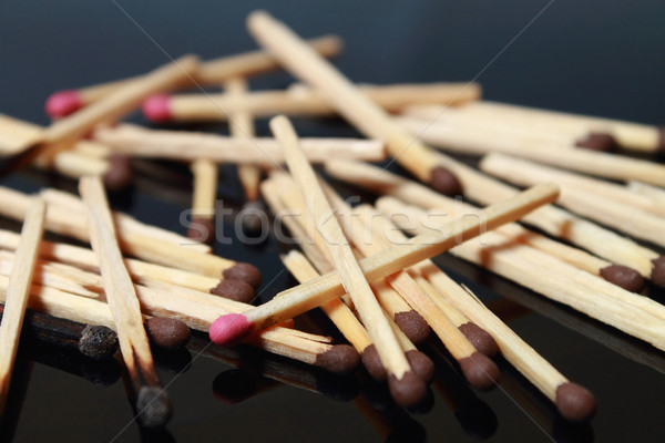 Matches macro Stock photo © yul30