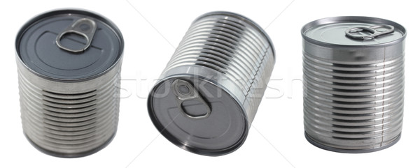 Three cans Stock photo © yul30