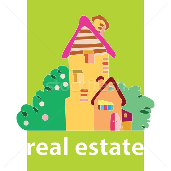 Onroerend huis dromen huren verkoop hand Stockfoto © yulia_mayevska