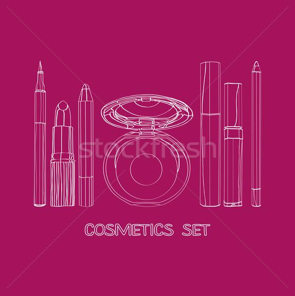 cosmetics set   Stock photo © yulia_mayevska