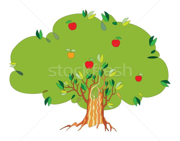 tree with apples Stock photo © yulia_mayevska